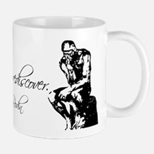 Rodin Thinker and Quote Mug