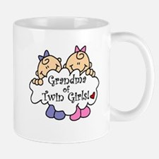 Grandma of Twin Girls Mug