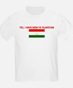 YES I HAVE BEEN TO TAJIKISTAN T-Shirt