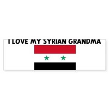 I LOVE MY SYRIAN GRANDMA Bumper Bumper Sticker