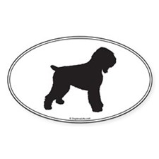 BRT Silhouette Oval Decal