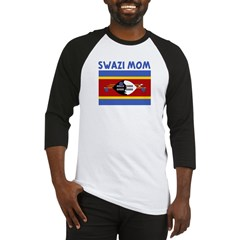SWAZI MOM Baseball Jersey