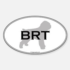 BRT Oval Oval Decal