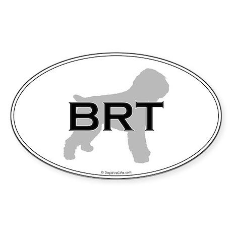BRT Oval Oval Sticker