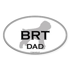 BRT Dad Oval Decal