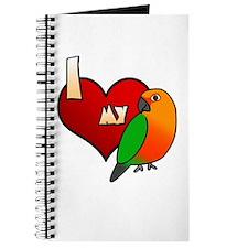 Love Jenday Conure Journal