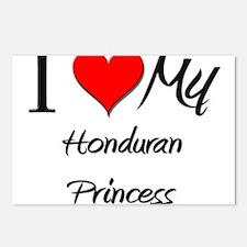 I Love My Honduran Princess Postcards (Package of