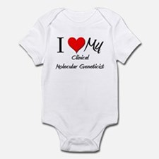 I Heart My Clinical Microbiologist Infant Bodysuit