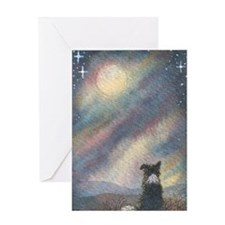 I see the moon... Greeting Card