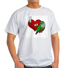 Love Green-Cheeked Conure T-Shirt