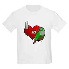 Love Green-Cheeked Conure T-Shirt