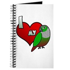 Love Green-Cheeked Conure Journal