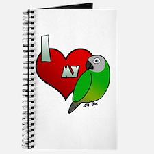 I Love my Dusky Conure Journal