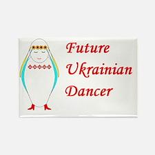 Unique Ukrainian dancers Rectangle Magnet