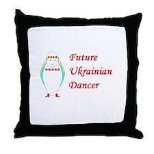Unique Future baby Throw Pillow
