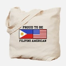 Proud Filipino American Tote Bag