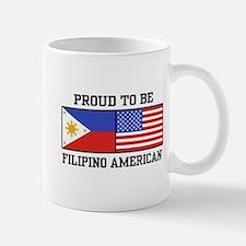 Proud Filipino American Mug