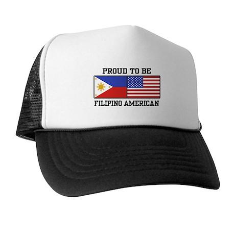 Proud Filipino American Trucker Hat
