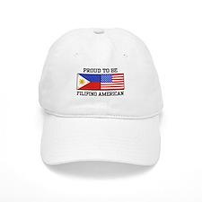 Proud Filipino American Cap