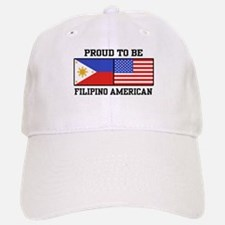 Proud Filipino American Cap