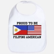 Proud Filipino American Bib