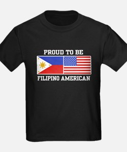 Proud Filipino American T