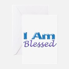 I Am Blessed Greeting Cards (Pk of 20)