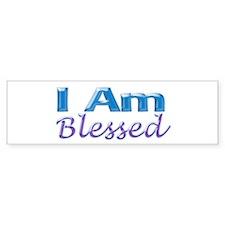 I Am Blessed Bumper Bumper Sticker
