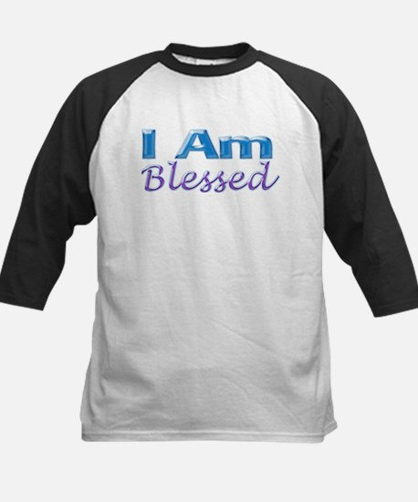 I Am Blessed Kids Baseball Jersey