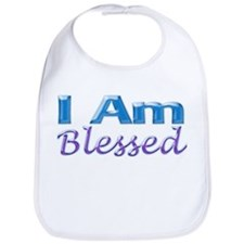I Am Blessed Bib