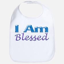 I Am Blessed Bib