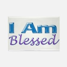 I Am Blessed Rectangle Magnet (100 pack)
