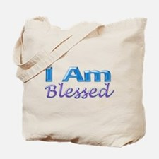 I Am Blessed Tote Bag
