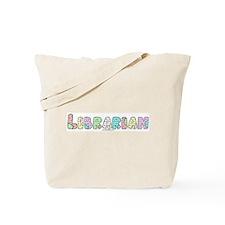Librarian Patchwork Tote Bag