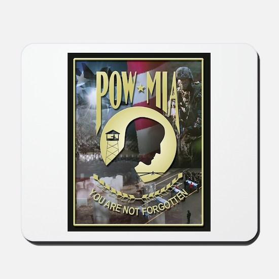 POW MIA Mousepad