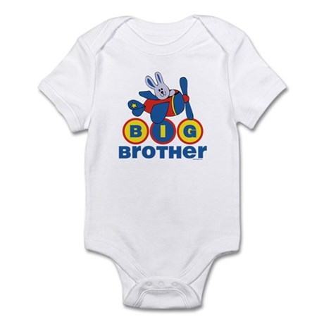 Aviator Bunny Big Brother Infant Bodysuit