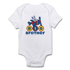 Aviator Bunny Big Brother Infant Bodysuit