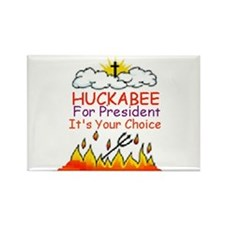 Huckabee Choice Rectangle Magnet
