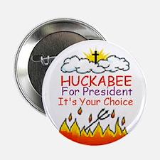 """Huckabee Choice 2.25"""" Button"""