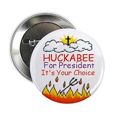 """Huckabee Choice 2.25"""" Button (10 pack)"""