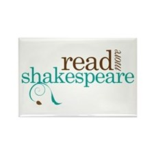 Read More Shakespeare Rectangle Magnet