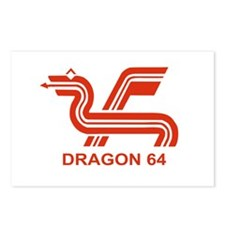 Dragon 64 Postcards (Package of 8)