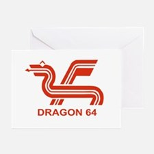 Dragon 64 Greeting Cards (Pk of 10)
