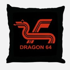 Dragon 64 Throw Pillow