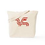 Dragon logo Distressed Tote Bag