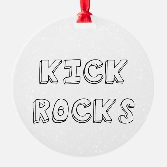 Kicks Rocks Ornament