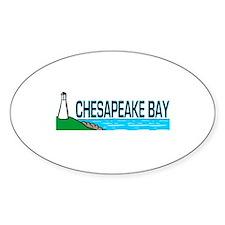 Chesapeake Bay Oval Decal