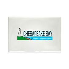 Chesapeake Bay Rectangle Magnet (100 pack)