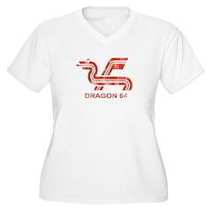 Dragon 64 Distressed T-Shirt