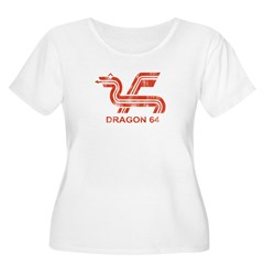 Dragon 64 Distressed T-Shirt